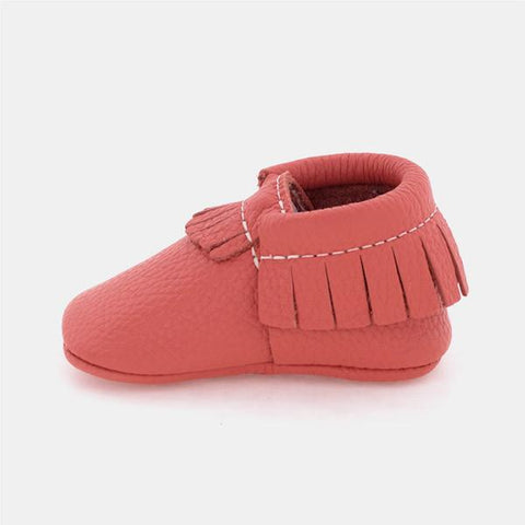 Classic Moccasins Collection by Freshly Picked - Coral