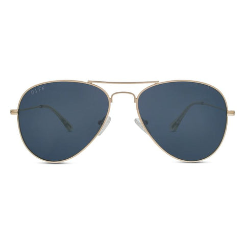 Diff Cruz Sunglasses - Gold - Grey