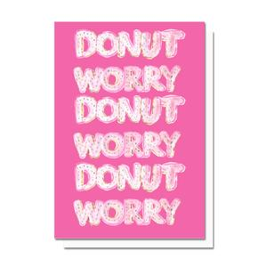 Evelyn Henson Donut Worry Card