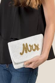 Mrs. Beaded Clutch