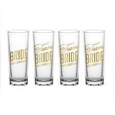 Bride's Drinking Team Shot