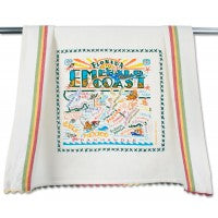 Emerald Coast Dish Towel