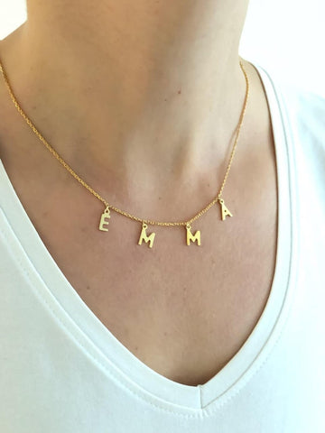Custom Name Necklace - Emma/Carly