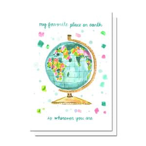 Evelyn Henson Card - My Favorite Place