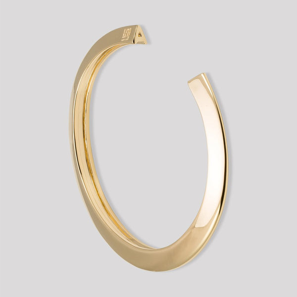 Stella Valle Initial Cut-Out Cuff - Gold
