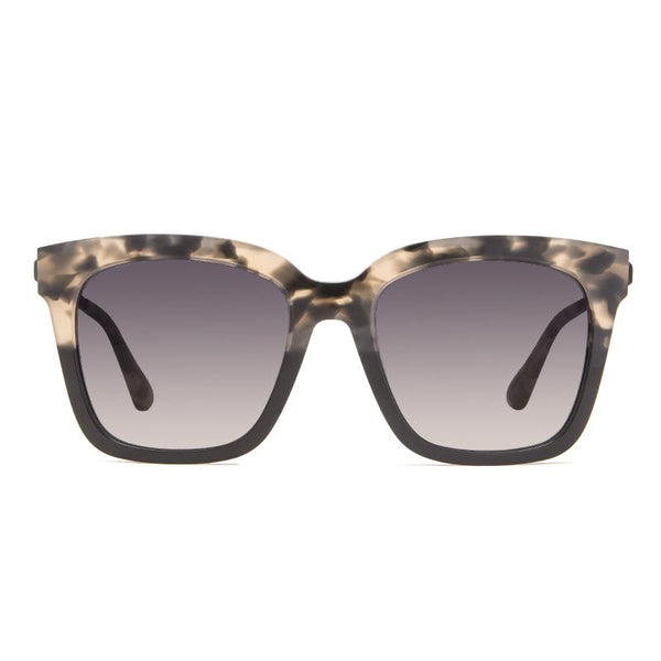 Diff Bella Sunglasses - Grey Smoke Gradient