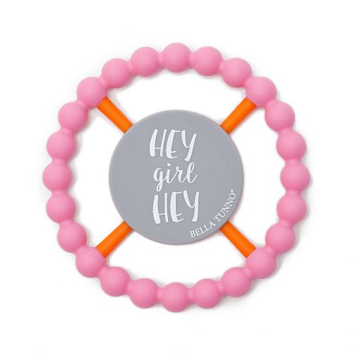 Bella Tunno Teething Ring - Hey Girl