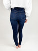 Riley High Rise Basic Skinny - Dark Denim