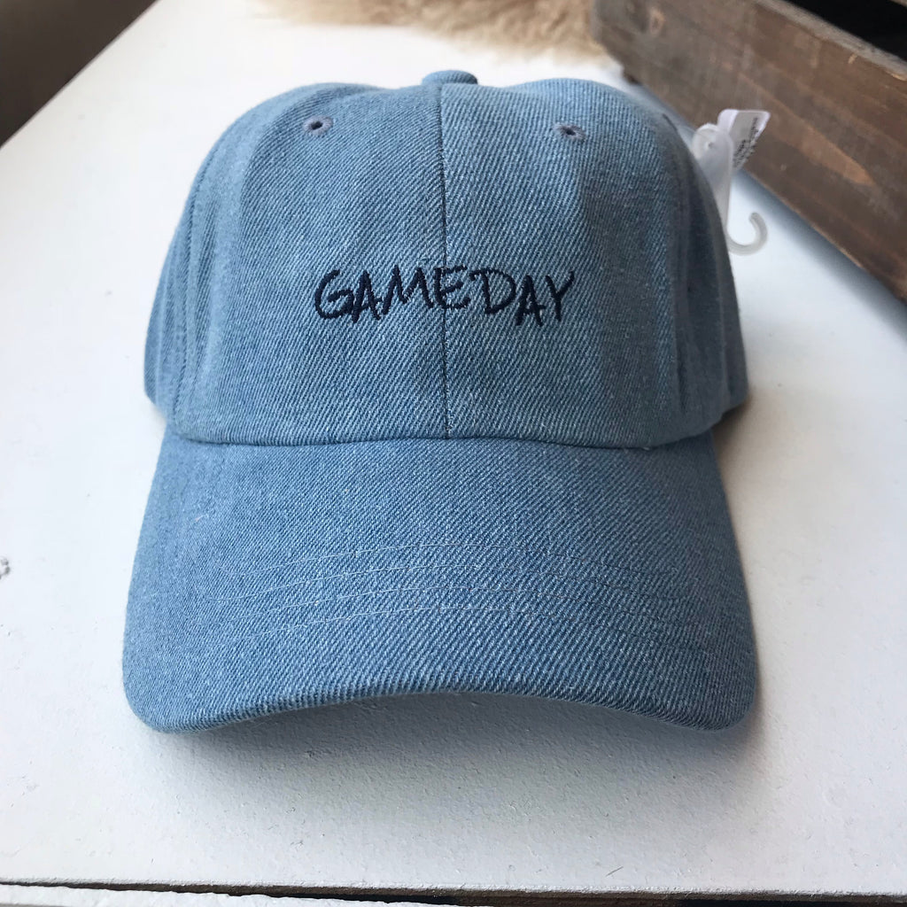 Gameday Embroidered Caps