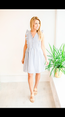 The London Stripe Dress