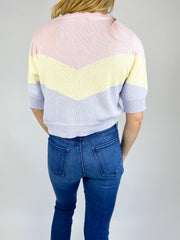 Worth Everything Colorblock Sweater