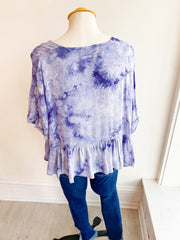 Pop and Lock Tie Dye Top
