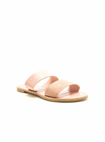 Make Things Easy Sandals - Blush