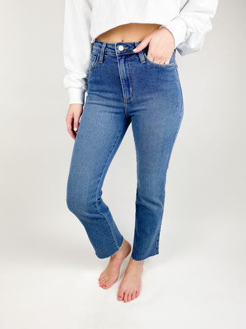 Kade High Rise Classic Straight Jeans