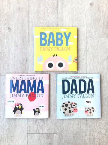 Jimmy Fallon Baby Books