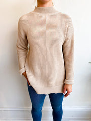 On A New Level Ribbed Sweater