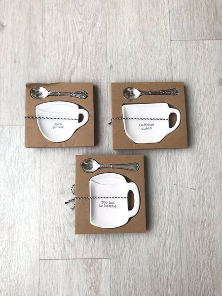 Coffee Spoon Rest Set
