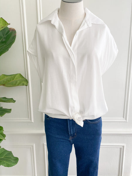 Dove Button Up Blouse