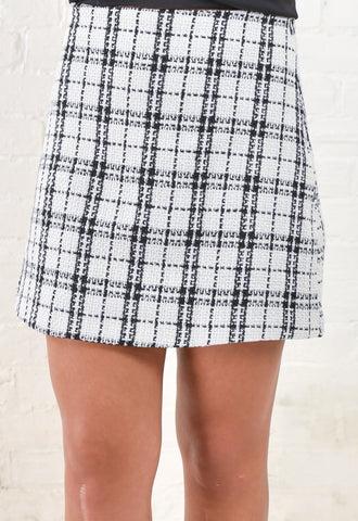 Jillian Tweed Mini Skirt