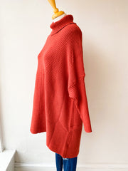 The Sweater Cowl Neck Sweater - Faded Rose