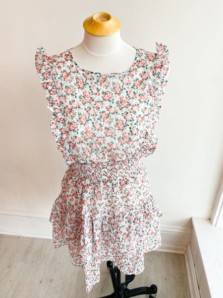 Goodbye Love Floral Dress