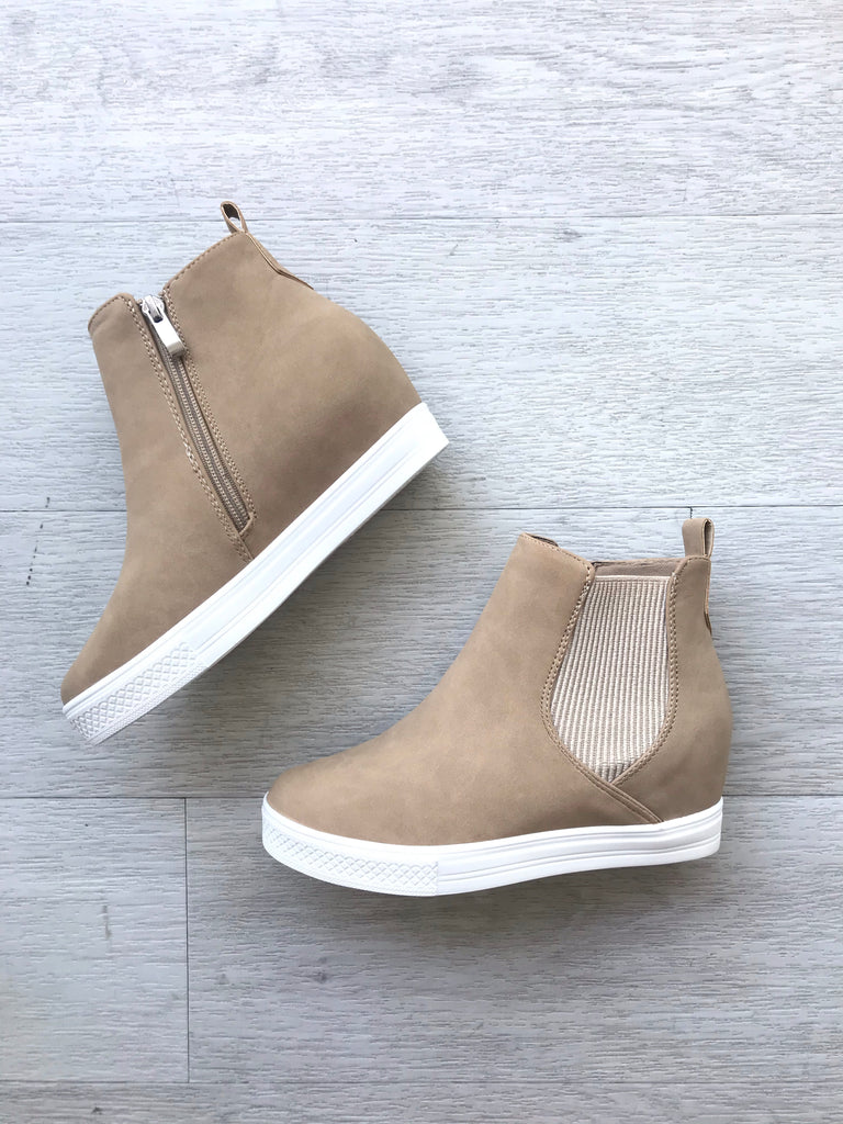 Teagan Wedge Sneakers