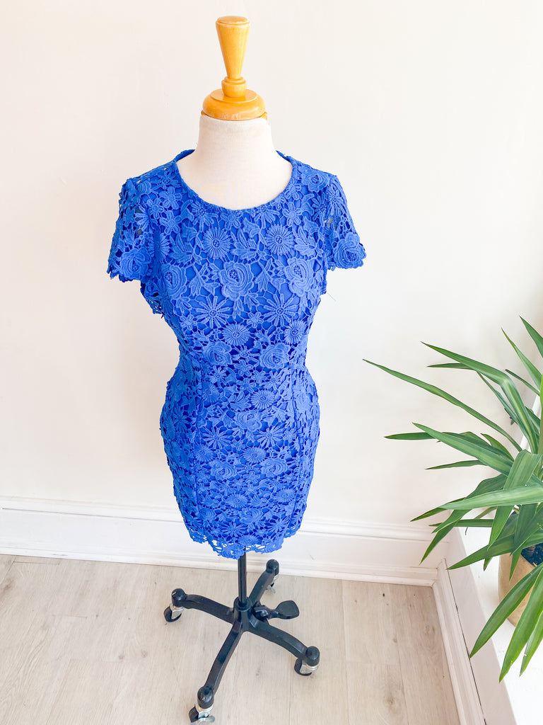 Bold & Beautiful Lace Dress