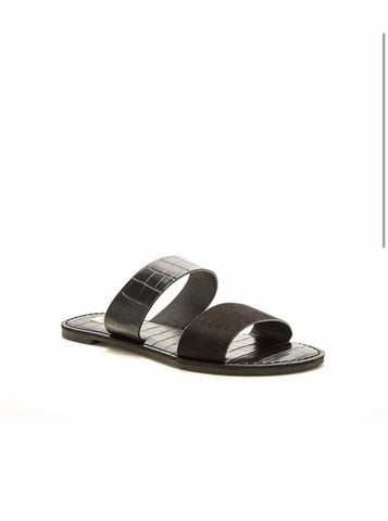 Make Things Easy Sandals - Black