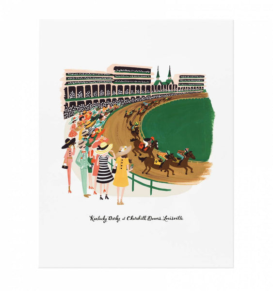Rifle Paper Co. - Kentucky Derby Print