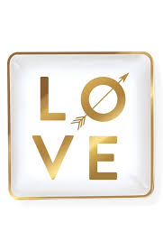 Love Arrow Square Tray