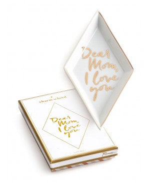 Charm School Tray - Dear Mom