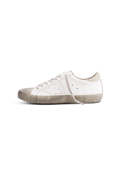 Rockstar Star Sneakers - White