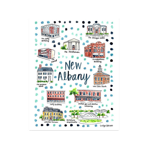 Evelyn Henson Print - New Albany