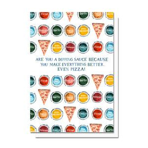 Evelyn Henson Card - Pizza Sauce