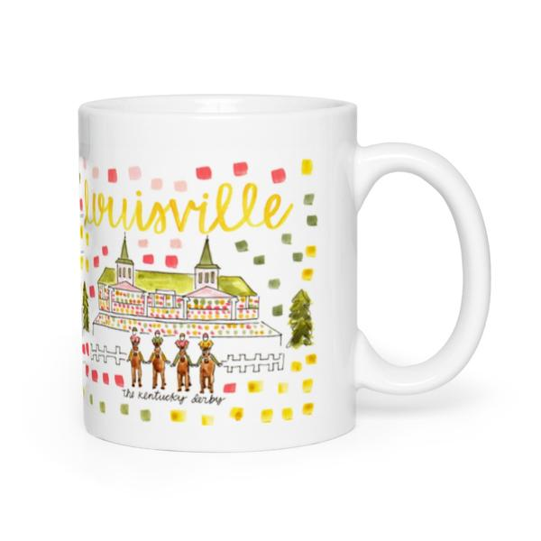 Evelyn Henson Map Mug - Louisville