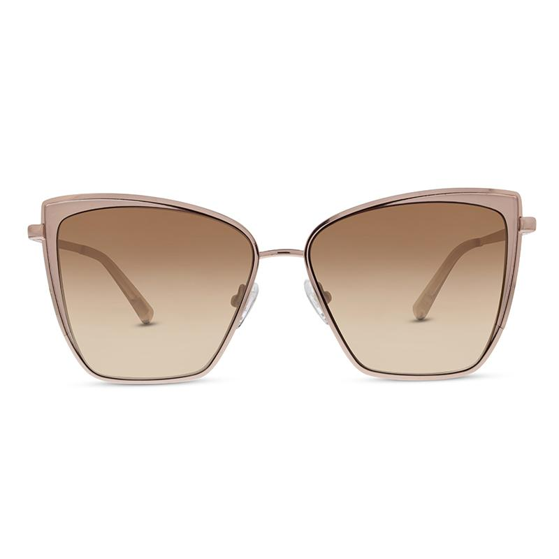 Diff Becky Sunglasses - Rose Gold Brown