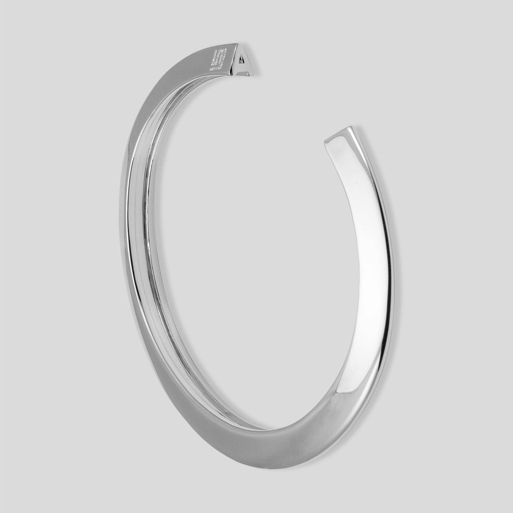 Stella Valle Initial Cut-Out Initial Bracelet - Silver