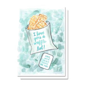 Evelyn Henson Waffle Fries Card