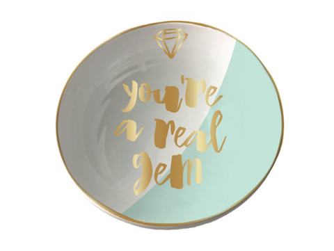 You're a Real Gem Trinket Tray