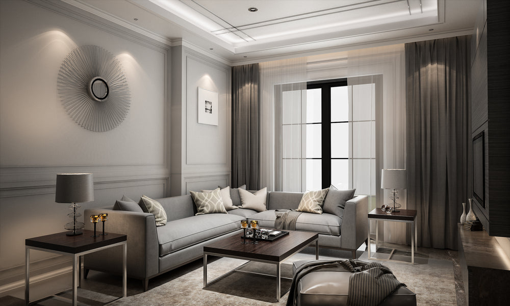 Gray is the New Black - Living Room Trends in 2019