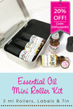Essential Oil Mini Roller Kits - new in the shop!