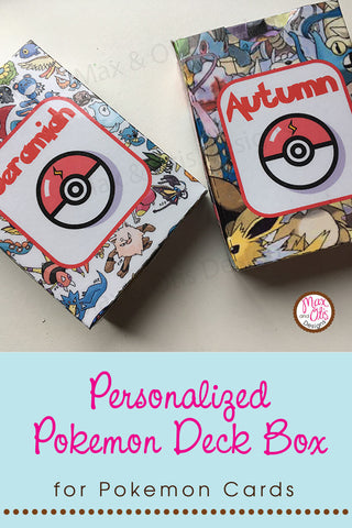 photo about Pokemon Binder Cover Printable known as Fresh new layout in just the keep: Pokemon Printable Deck Packing containers Max