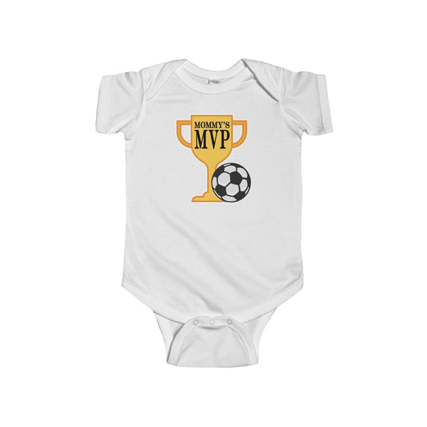 Mommy's MVP Infant - Soccer Baby Bodysuit - Max & Otis Designs