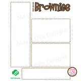 Girl Scout Brownie Printable Newsletter Template - Max & Otis Designs