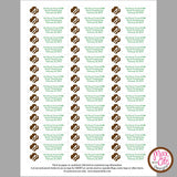 Girl Scout Brownie Printable SWAPS Tags (editable PDF) - Max & Otis Designs
