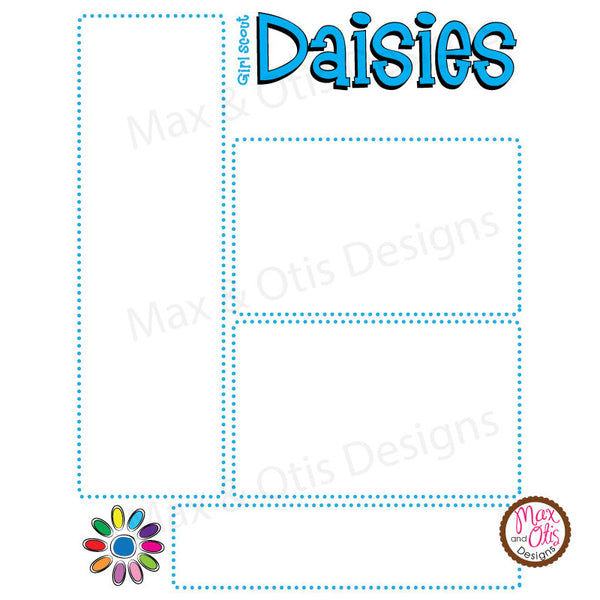 Girl Scout Daisy Printable Newsletter Template Max