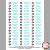 Girl Scout Daisy Printable SWAPS Tags (editable PDF) - Max & Otis Designs