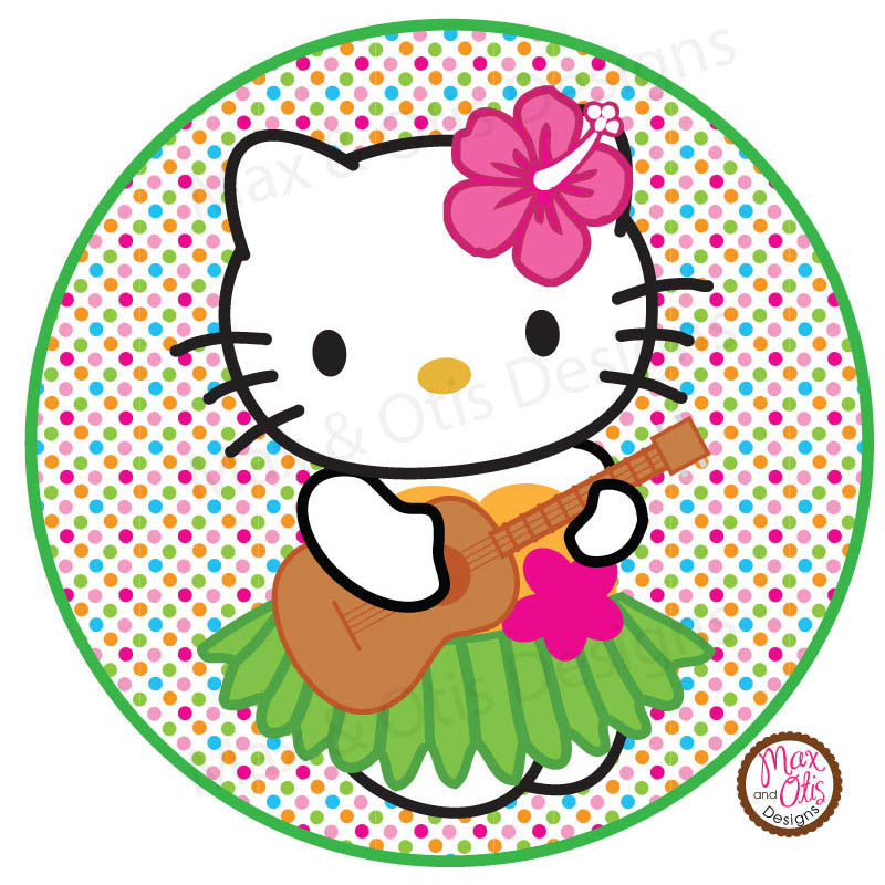 Hello Kitty Printable Sign Banner Alphabet & Numbers - Bright Dot