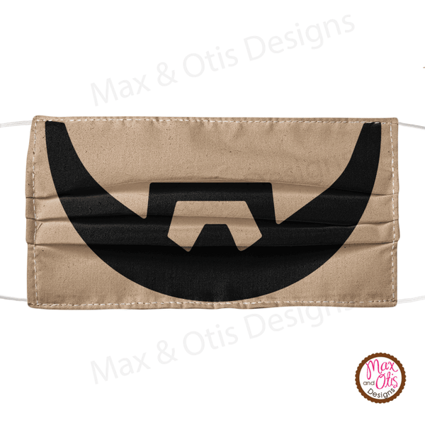 Men's Face Mask - Beard - Max & Otis Designs