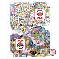 Printable Pokemon Deck Box (Editable PDF) - Max & Otis Designs